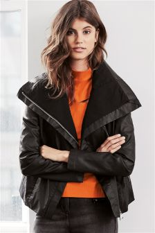 Coated Edge To Edge Jacket
