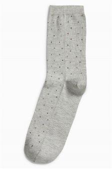 Stud Ankle Socks