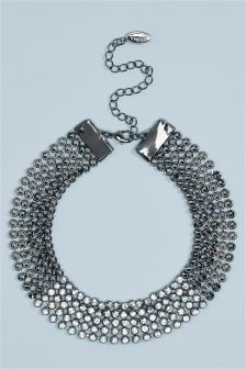 Diamanté Effect Choker