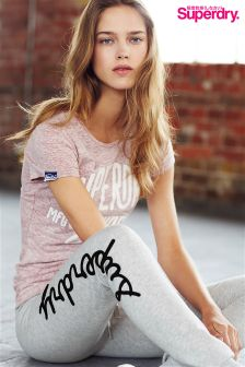 Superdry Pink MFG Original Tee