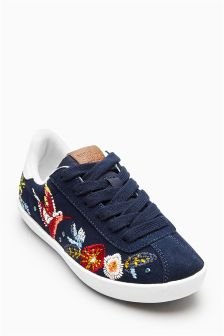 Embroidered Trainers (Older Girls)