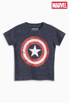 Short Sleeve Captain America T-Shirt (3mths-6yrs)