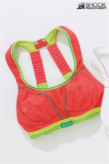 Shock Absorber Pink/Green Ultimate Run Bra