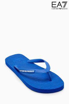 Emporio Armani EA7 Blue Swim Flip Flop