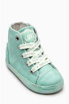 Pearl High Tops (Younger Girls)