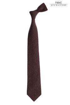 Signature Fleck Tie