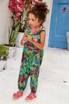 Jungle Print Playsuit (3mths-6yrs)