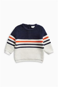 Stripe Knit Jumper (0mths-2yrs)