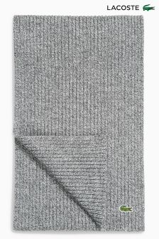 Lacoste® Charcoal Marl Scarf
