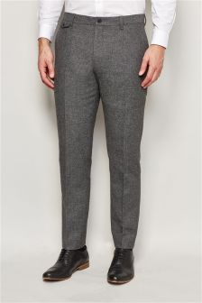 Broken Twill Mix Slim Fit Trousers