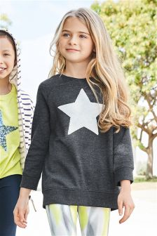 Star Crew Top (3-16yrs)
