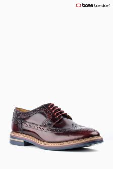 Base London Bordeaux Hi Shine Brogue