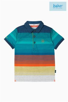Baker by Ted Baker Blue Stripe Poloshirt