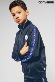 Converse All Star Navy Taped Track Jacket