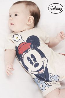 Minnie Mouse™ Short Legged Romper (0mths-2yrs)