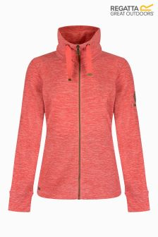Regatta Pink Full Zip Fleece