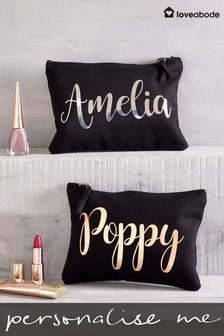 Personalised Small Cosmetic Bag By Loveabode