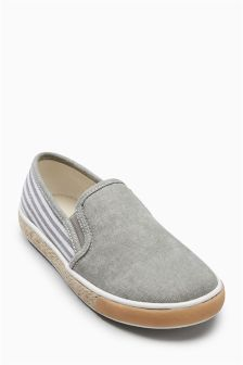 Chambray Stripe Shoes (Older Boys)