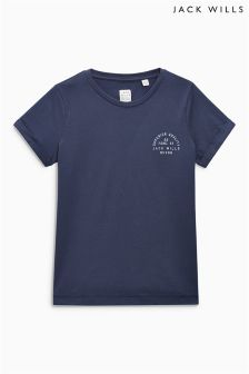 Jack Wills Navy Boyfriend Tee