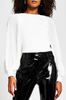 Phase Eight Black/White Jacquard Drue Skirt
