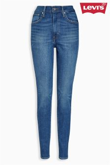 Levi's® Mid Wash Mile High Super Skinny Jean