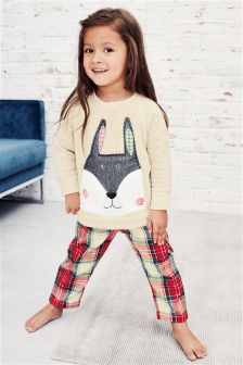 Rabbit Woven Bottom Pyjamas (9mths-8yrs)