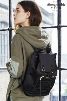 Abercrombie & Fitch Black Rucksack
