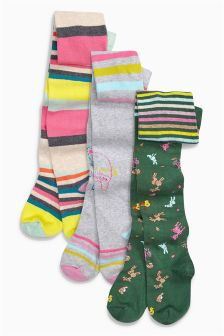Tights Three Pack (0mths-6yrs)