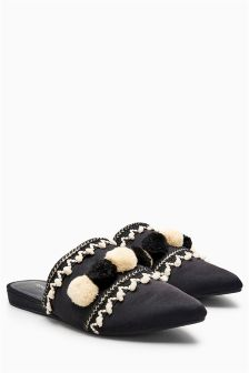 Pom Point Babouche Shoes