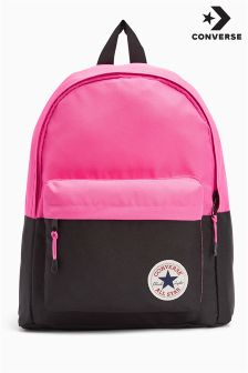 Converse Pink Colourblock Backpack