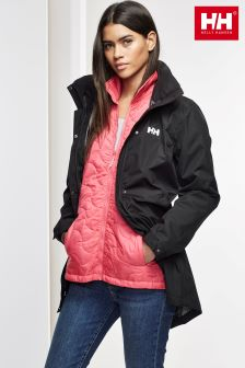 Helly Hansen Black Bellevue Coat