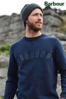 Barbour® Navy Logo Sweat