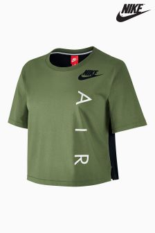 Nike Green Sportswear Top