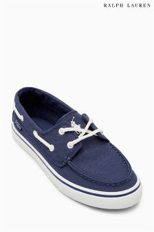 Polo Ralph Lauren Navy Batten Boat Shoe