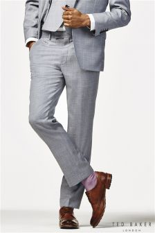 Ted Baker Light Blue LeverT Suit Trouser