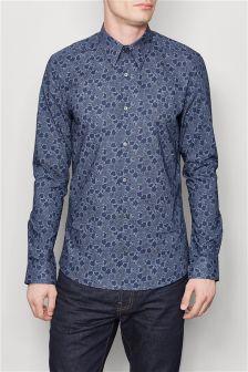 Floral Print Premium Shirt