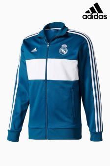 adidas Real Madrid 2017/18 3-Stripe Jacket