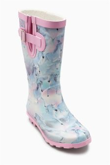 Unicorn Wellington Boots (Older Girls)