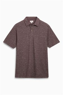 Textured Slub Polo
