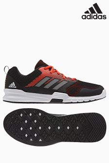 adidas Gym Black/Red Essential Star