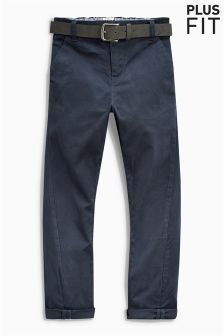Belted Chino Trousers (3-16yrs)