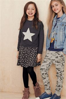 Star Ditsy Skirt Two In One (3-16yrs)