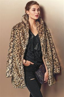 Faux Fur Ladies Coats