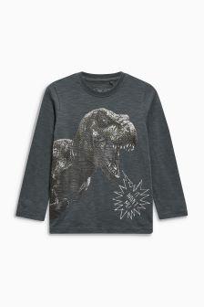 Long Sleeve Dino Top (3-16yrs)