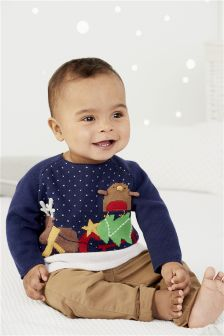 Christmas Jumper (0mths-2yrs)