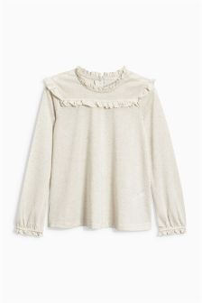 Ruffle Detail Top (3-16yrs)