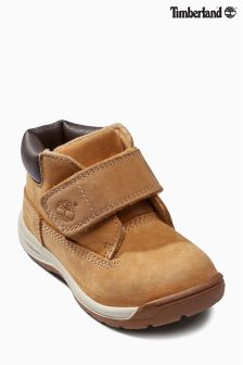 Timberland® Tan Tykes Hook And Loop Boot