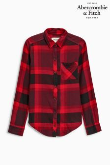 Abercrombie & Fitch Red/Black Check Shirt