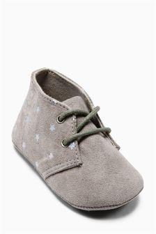 Pram Desert Boots (Younger Boys)