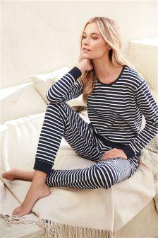 Jersey Stripe Pyjamas